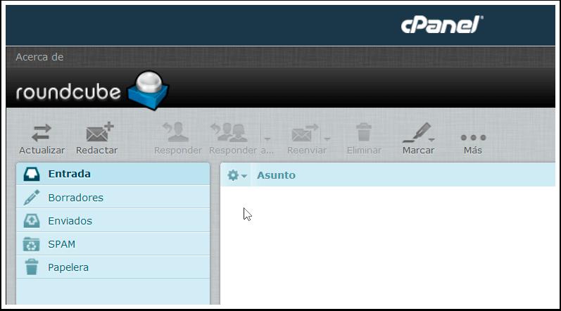 Correo Webmail Roundcube