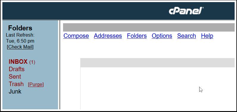 Correo Webmail Squirrellmail