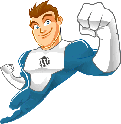 Superhéroe de Hosting WordPress en España