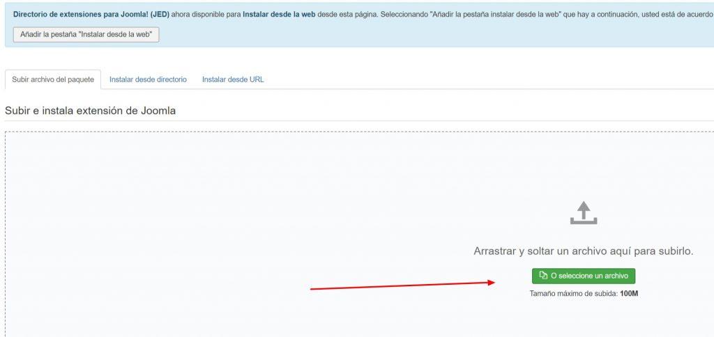 LiteSpeed Cache Joomla instalar plugin